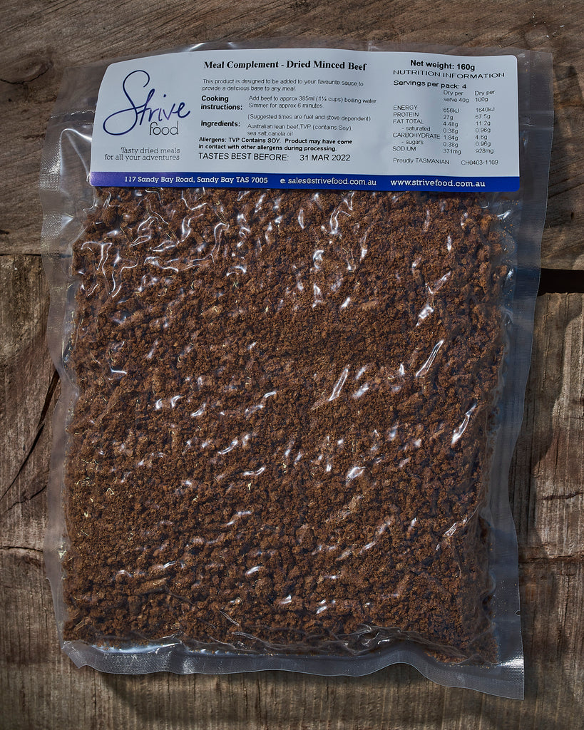 Dried Minced Beef
