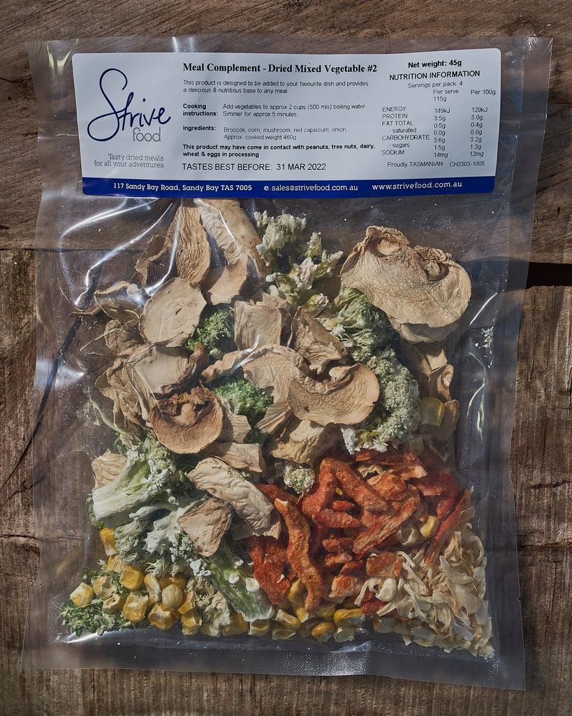 Dried Mixed Vegetables