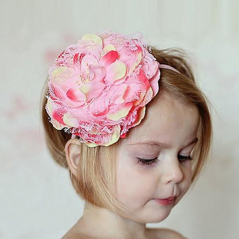 flower band baby girl headbands