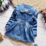 Denim Baby Coat baby girl outfits
