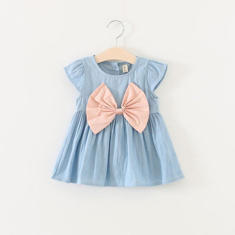 Baby Girl Blue Dress baby girl outfits