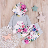 Baby Girl Hoodie Set Baby Girl Outfits