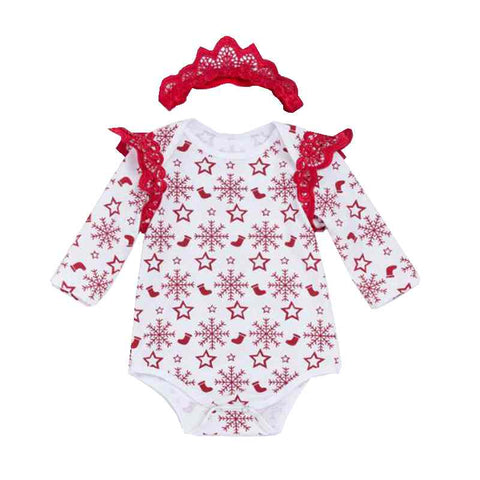Love - Newborn Girl Christmas Outfit