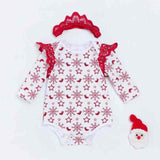 Newborn Girl Christmas Outfit