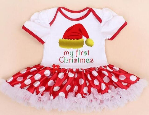 Candy - Baby Girl Christmas Outfit