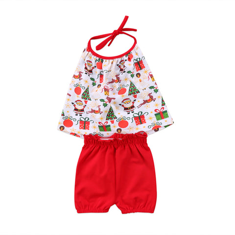 Christmas Clothes for Baby Girl