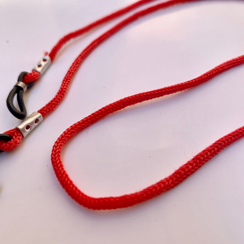 Sunnies Strap - Red Rope