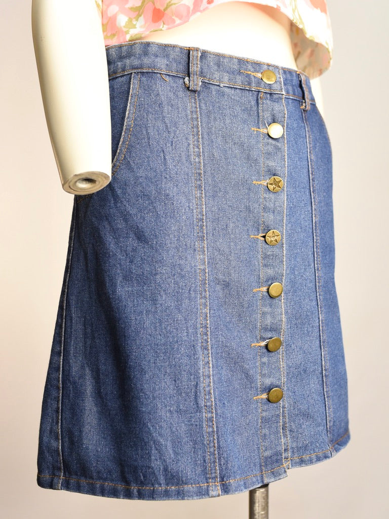 Dolly Denim Skirt