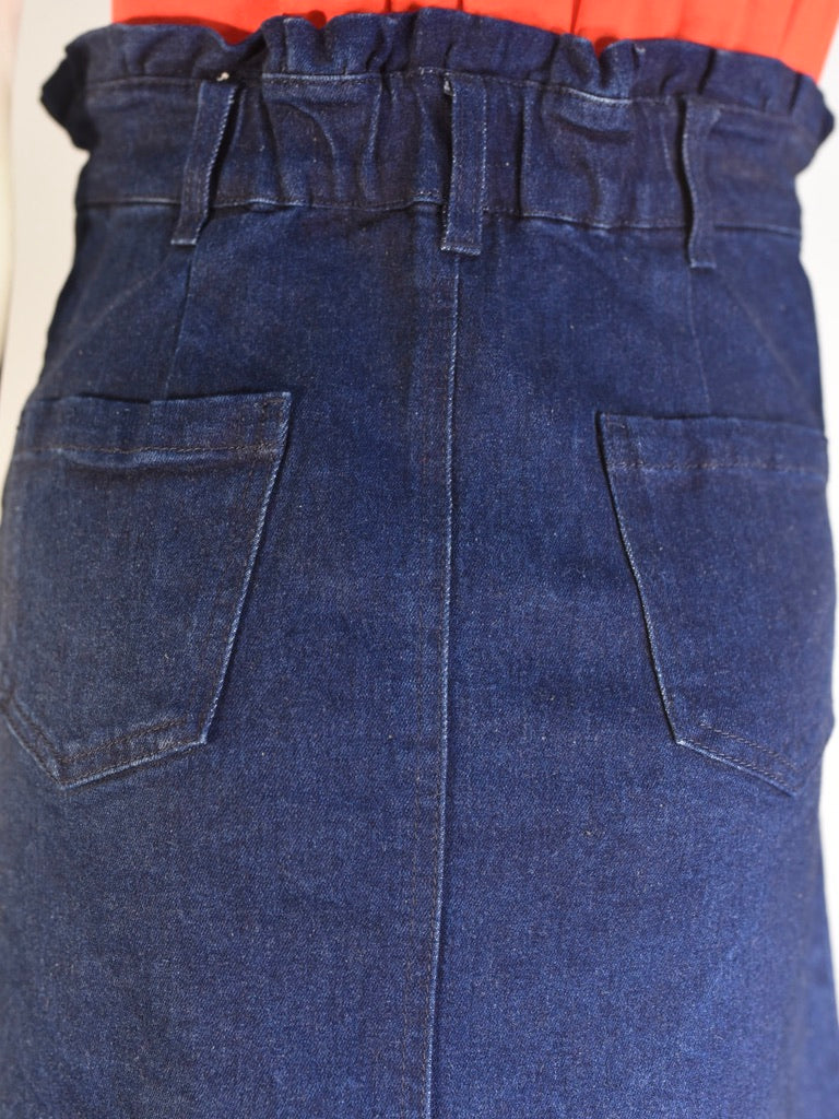 Tyrrell Denim Skirt
