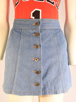 Ingrid Denim Skirt