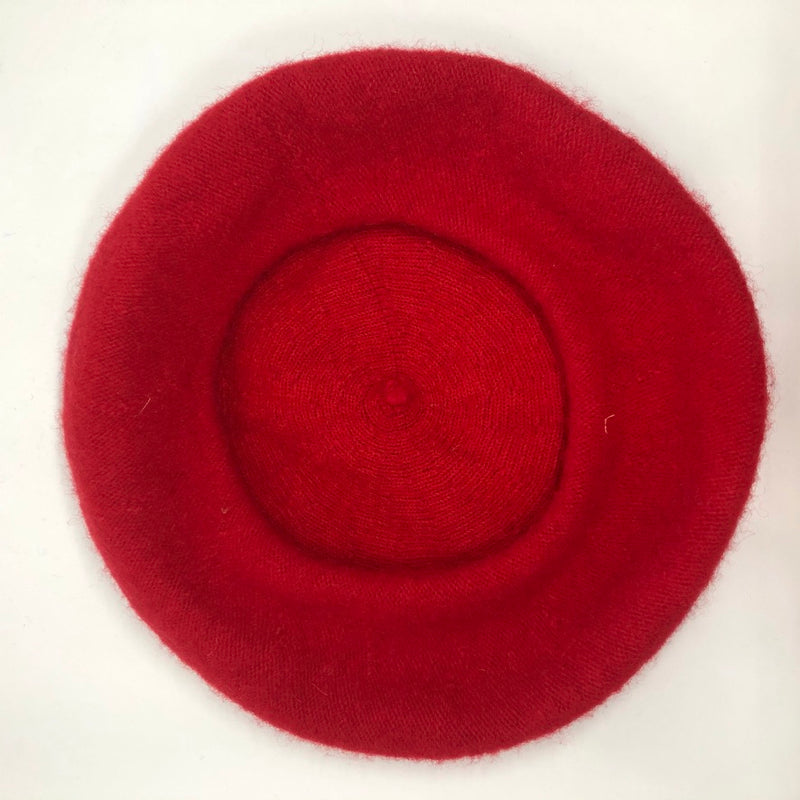 Fire Engine Red Beret