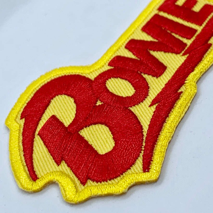 Bowie Yellow and Red Patch
