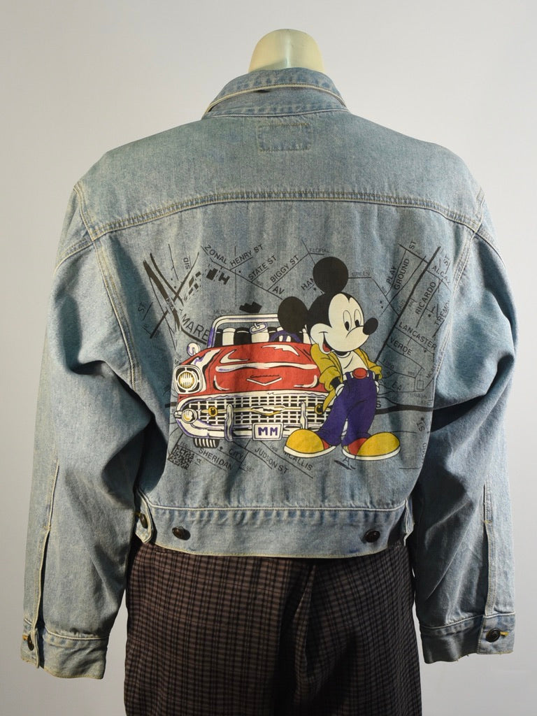 Cruisin' With Mickey Denim Jacket
