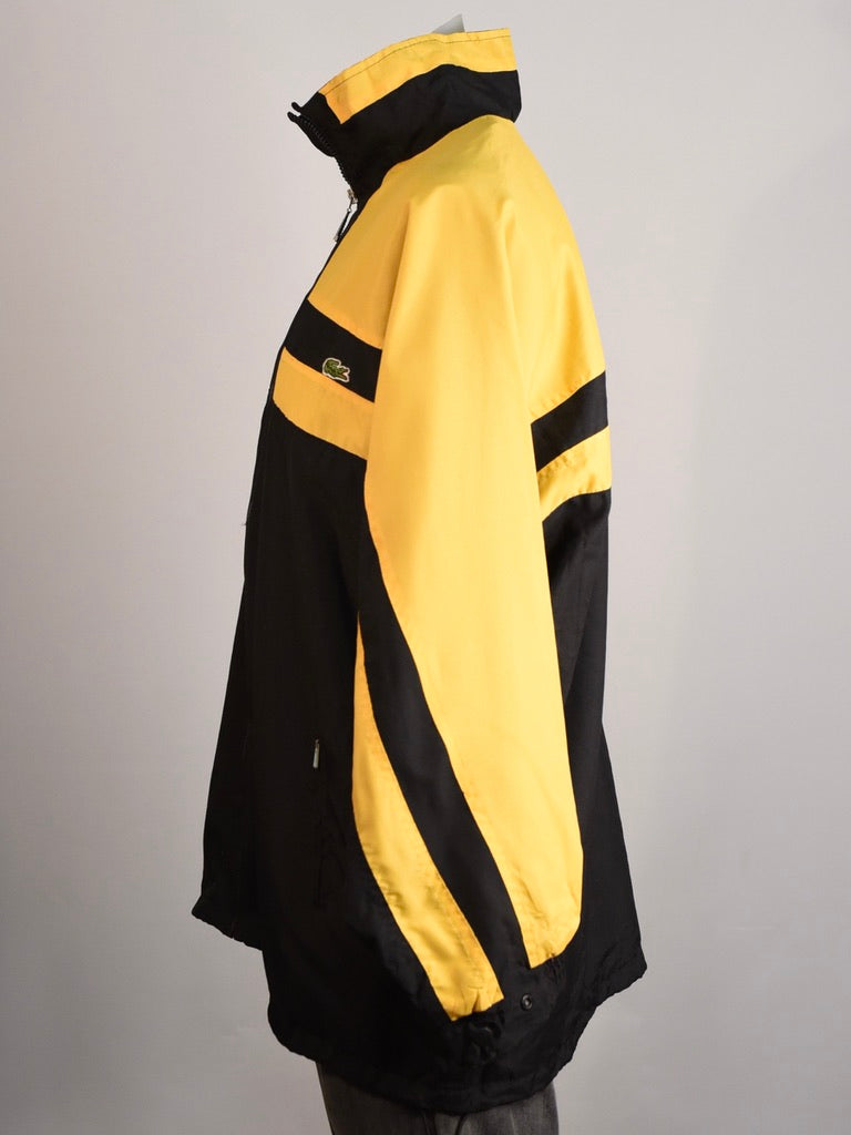Yellow Lacoste Spray Jacket