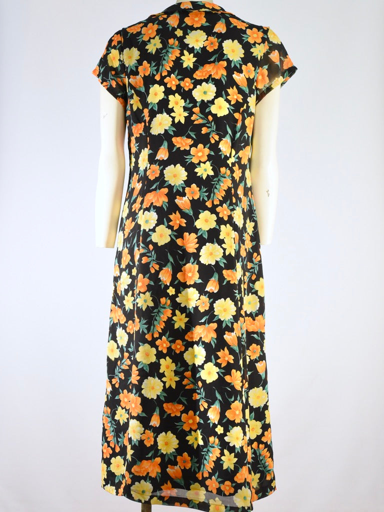 Amalfi 90s Floral Dress