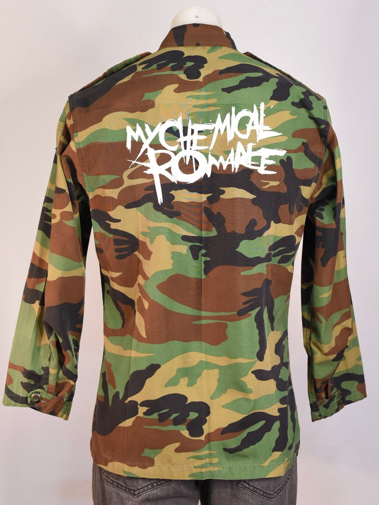 My Chemical Romance Camouflage Jacket