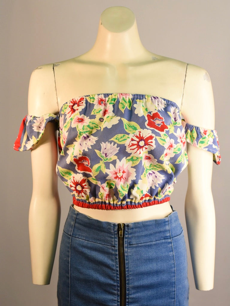 Carmen Crop Top