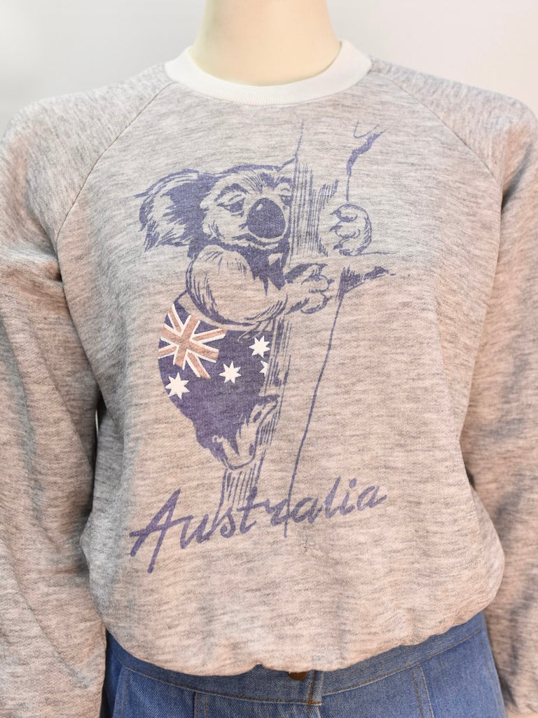 Australia Jumper - AS IS - marks and holes