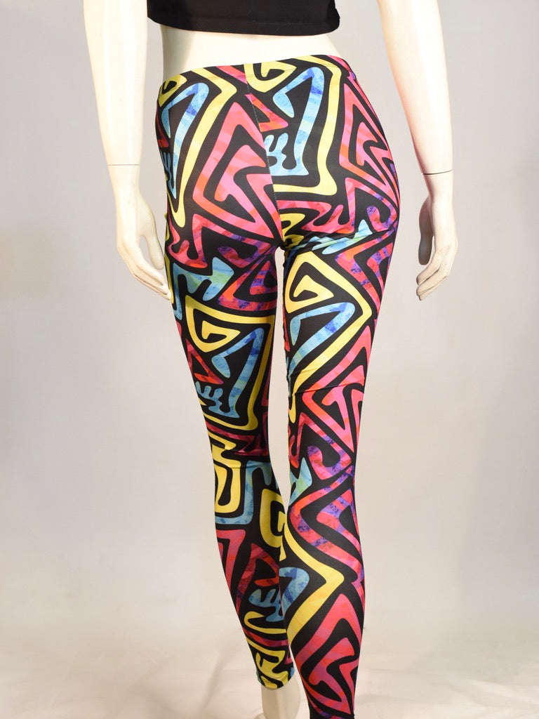 90s Bright Leggings