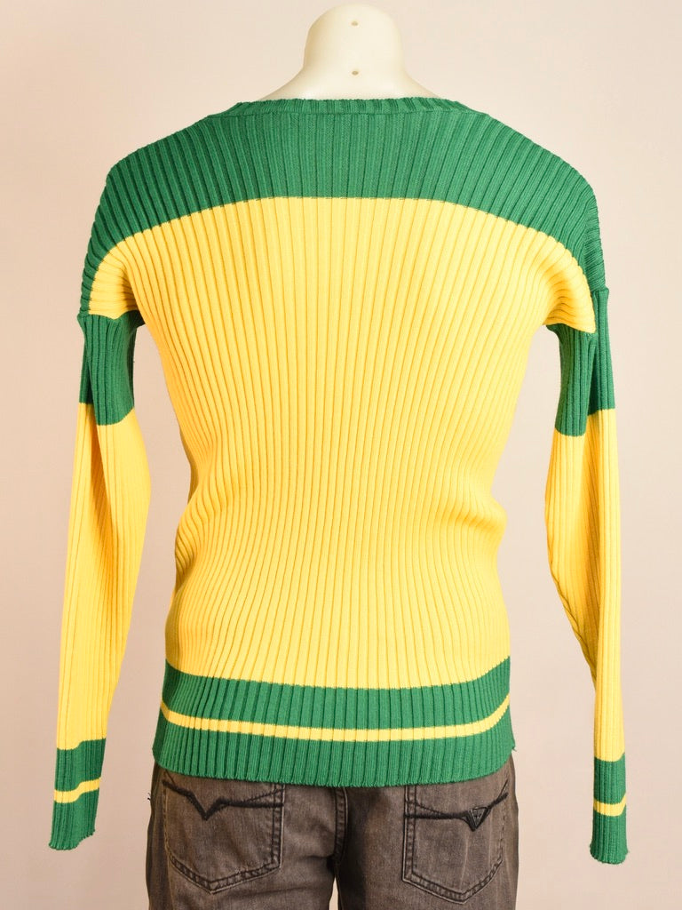 Green and Yellow Jumper