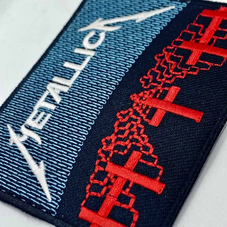 Metallica Crosses Patch