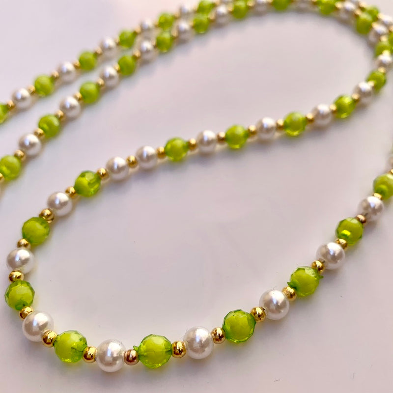 Sunnies Strap - Lime Beads