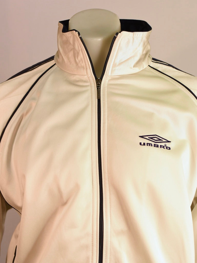 Silver Umbro Spray Jacket