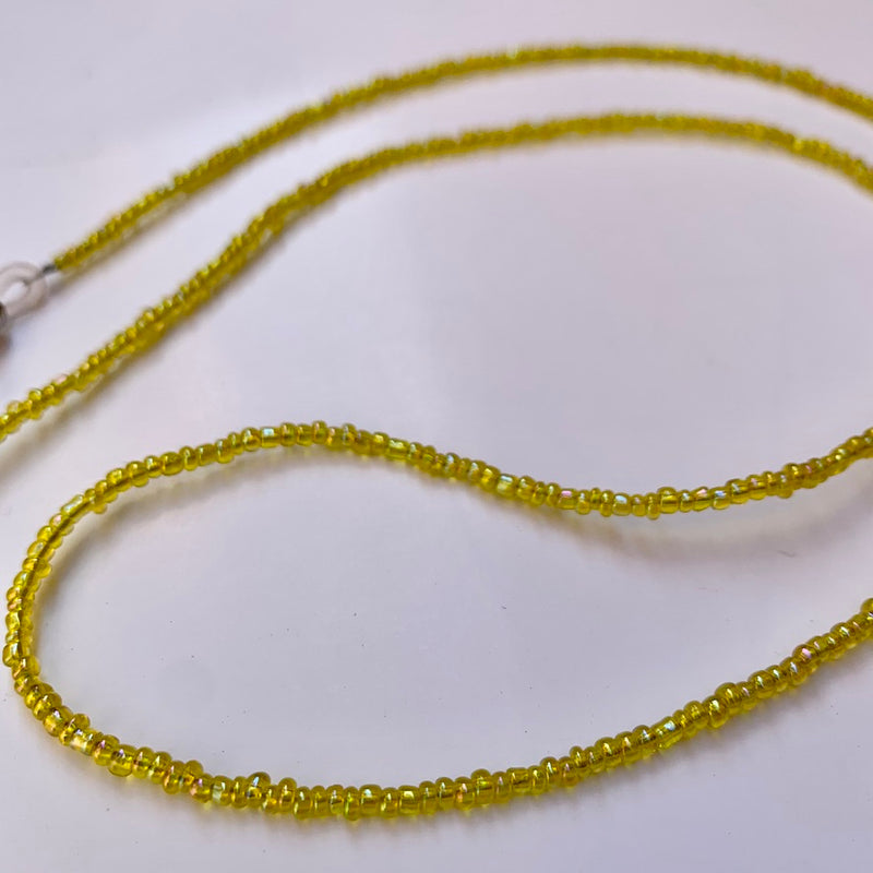 Mini Beads Sunnies Strap - Lemon