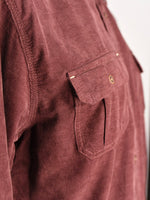 Marty Maroon Cord Shirt