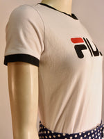 Fila White Tee - AS IS - mark