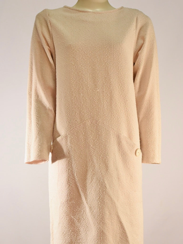 Almond Long Sleeve Dress