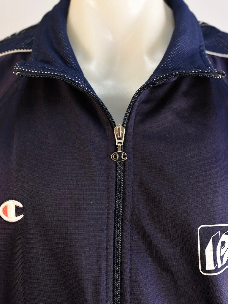 Champion Navy Spray Jacket - AS IS - marks