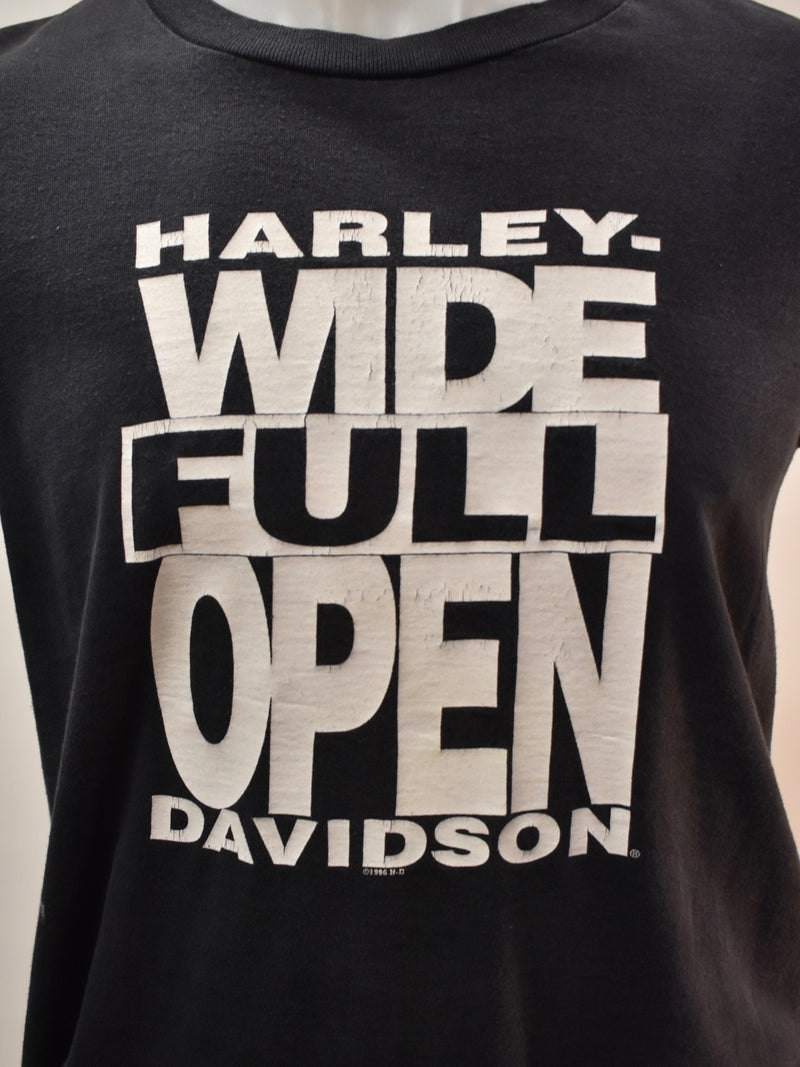 Wide Full Open Harley - AS IS - marks