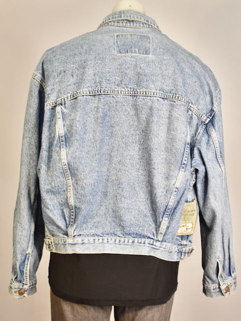 Diesel Star Blue Denim Jacket