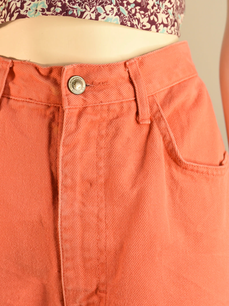 Coral Pink Shorts - AS IS - marks