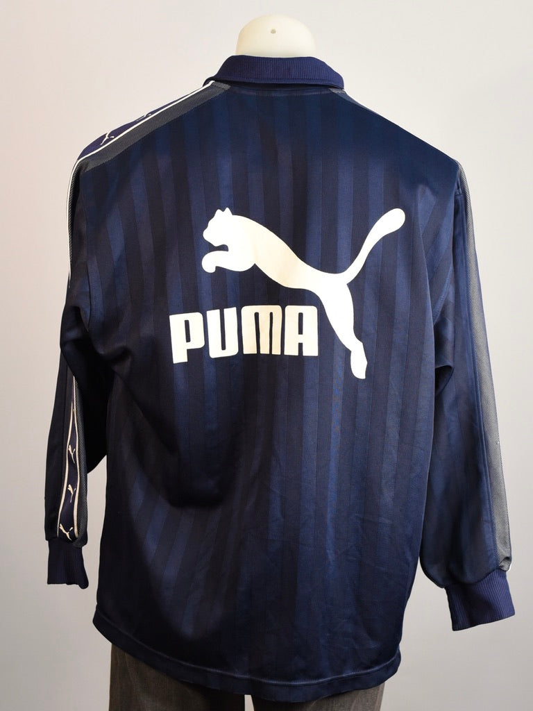 Puma Navy Spray Jacket - AS IS - marks and holes