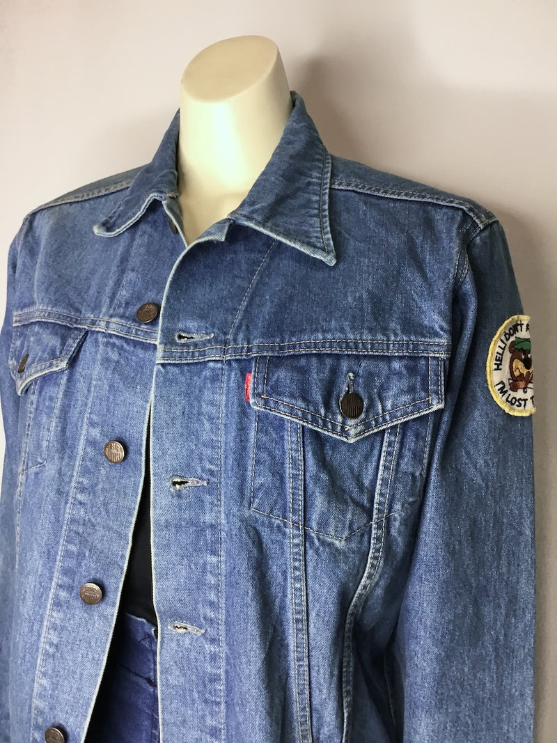 Yogi Bear Denim Jacket