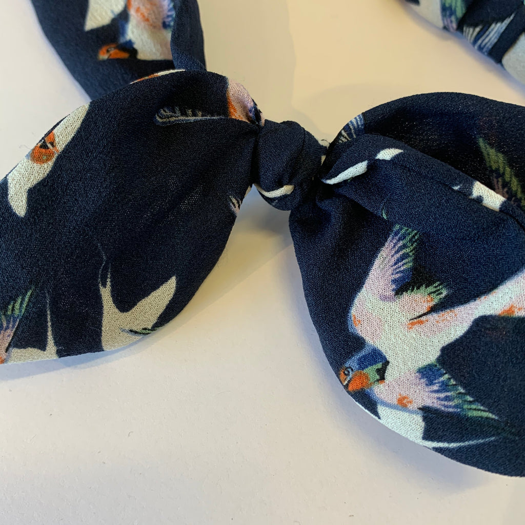 Blue Birdy Headband