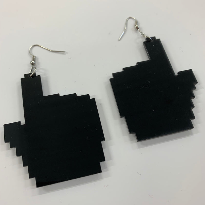 8-Bit Cursor Earrings
