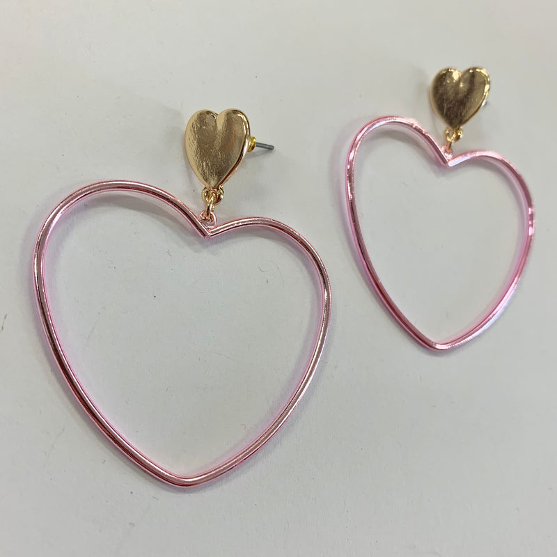 Y2K Heart Earrings