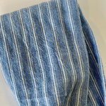Faux Denim Striped Headband