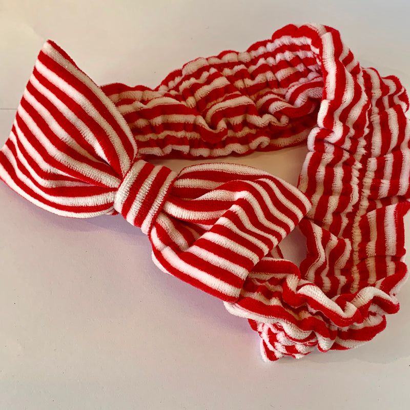 Candy Stripe Towelling Headband