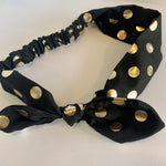 Rose Gold Polka Dot Headband
