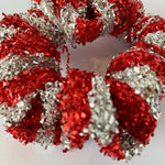 Candy Cane Scrunchie