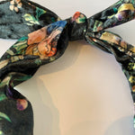 Faux Velvet Bouquet Headband