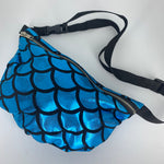 Mermaid Bumbag - Blue