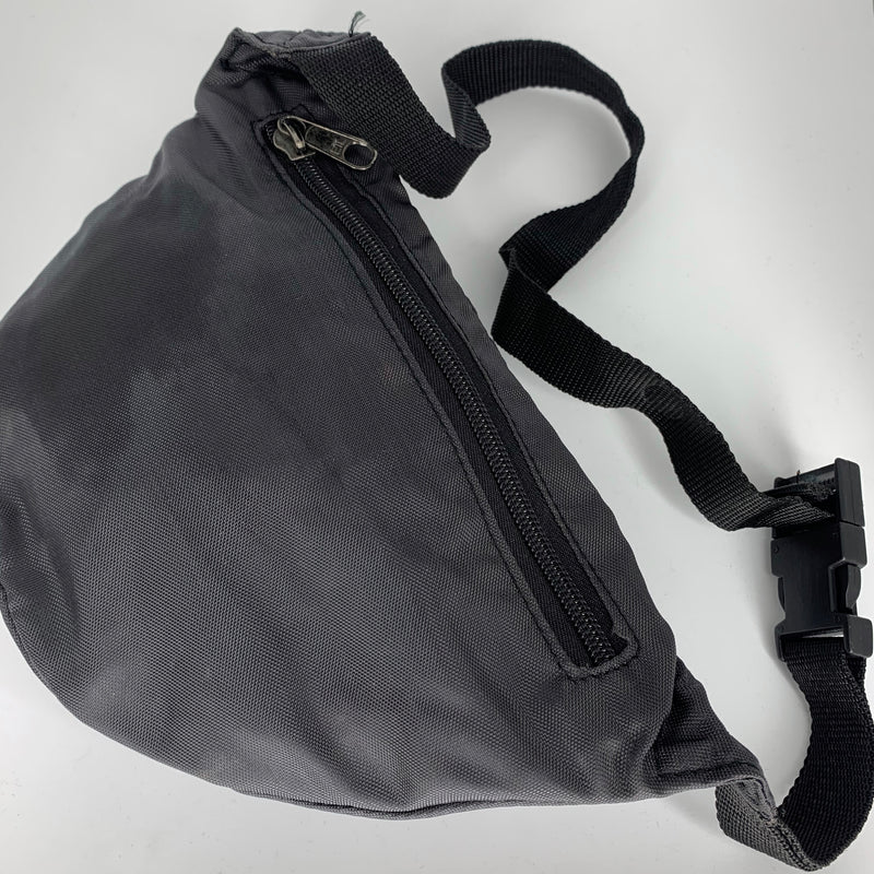 Black Nylon Bumbag