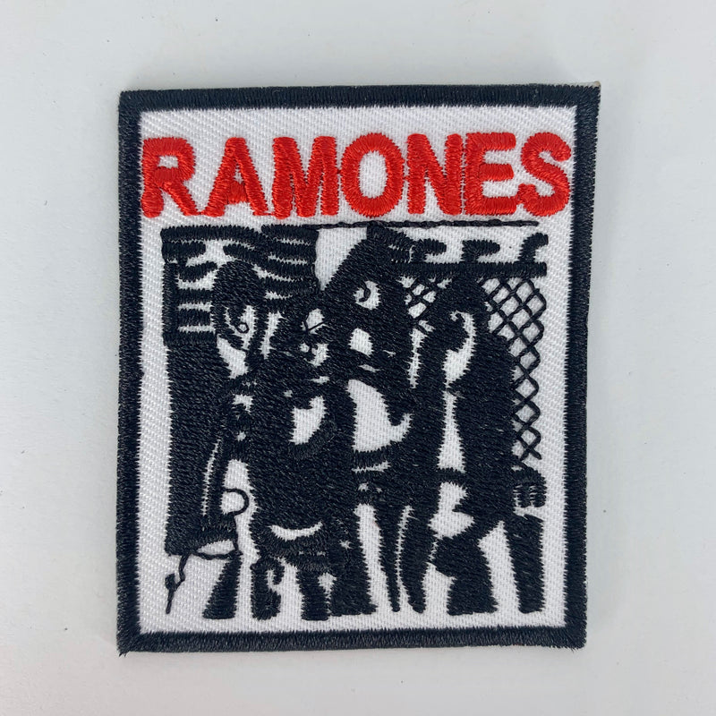 The Ramones Patch - White