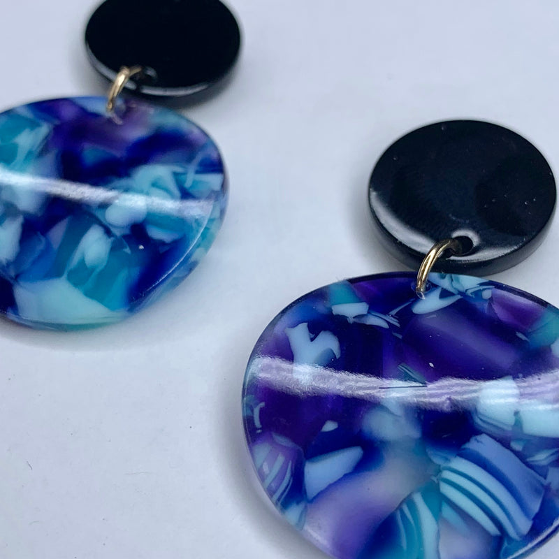 Blue Danube Earrings
