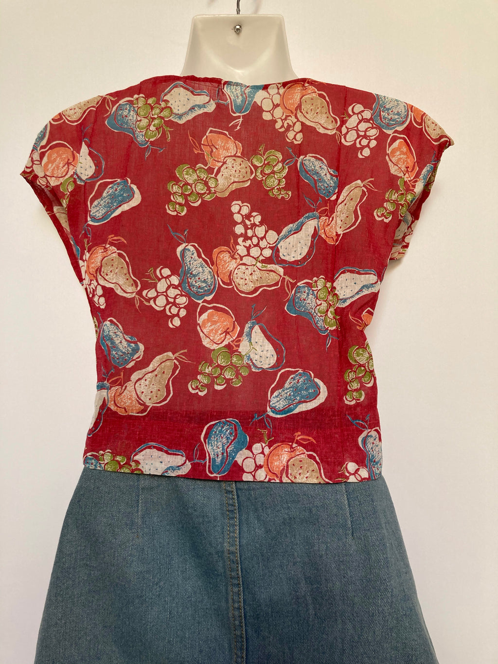 Fruit Salad Crop Top